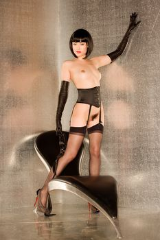 Сексуальная Саша Грей обнажилась для горячих фото фото #12