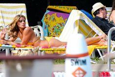 Горячая Эшли Грин в сексуальном купальнике на съёмках фильма «Лето на Статен-Айленд» фото #2