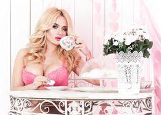 Горячая Мария Капшукова в красивом белье на фотосессии фото #5