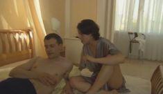 Голые сиськи Елены Поляковой в сериале «Замыслил я побег...» фото #47