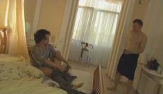 Голые сиськи Елены Поляковой в сериале «Замыслил я побег...» фото #49