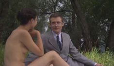 Голые сиськи Елены Поляковой в сериале «Замыслил я побег...» фото #72