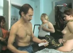 Наталья Лапина показала голую грудь в фильме «Имитатор» фото #7