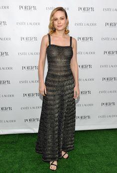 Восхитительная  Бри Ларсон засветила грудь в прозрачном платье на мероприятии фото #1