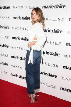Красотка Дебби Райан засветила сиськи на  Fresh Faces Event в Лос-Анджелесе фото #9