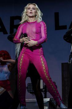 Зара Ларссон засветила сосок на фестивале Bravalla в Швеции фото #8
