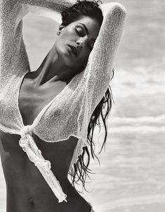 Красавица Изабель Фонтана снялась обнажённой в журнале Lui фото #6