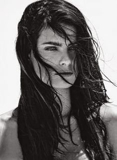 Красавица Изабель Фонтана снялась обнажённой в журнале Lui фото #8