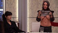 Красотка Эддисон Тимлин оголила грудь и попу в сериале «Блудливая Калифорния» фото #37