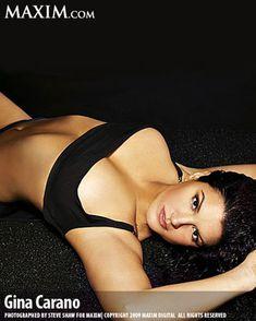 Секси Джина Карано в журнале Maxim фото #1