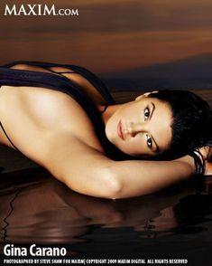 Секси Джина Карано в журнале Maxim фото #2