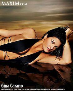 Секси Джина Карано в журнале Maxim фото #3