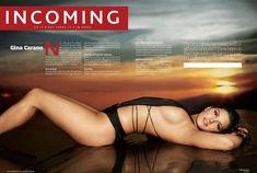 Секси Джина Карано в журнале Maxim фото #4