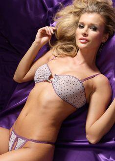 Джоанна Крупа в эротическом белье Bon Prix фото #6