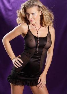 Джоанна Крупа в эротическом белье Bon Prix фото #18