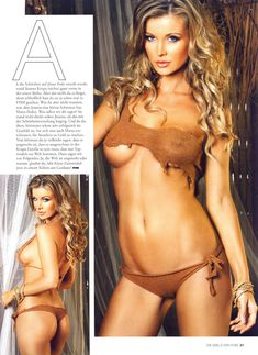 Развратная Джоанна Крупа в журнале FHM фото #3