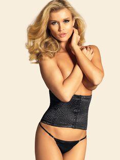 Джоанна Крупа в рекламе нижнего белья фото #5