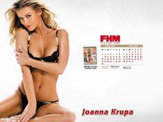 Заманчивая Джоанна Крупа для календаря FHM фото #1