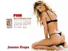 Заманчивая Джоанна Крупа для календаря FHM фото #2