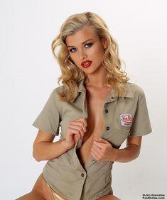 Джоанна Крупа для эротичного календаря Fast Dates фото #10