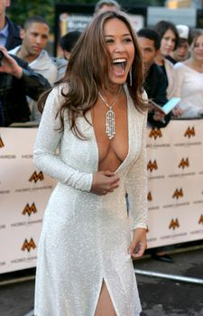 Майлин Класс с глубоким вырезом на MOBO Awards фото #2