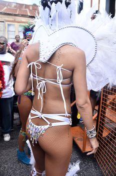 Рианна в откровенном наряде на карнавале в Барбадосе фото #13