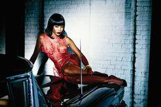 Наоми Кэмпбелл в рекламе нижнего белья Agent Provocateur фото #3