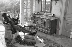 Горячая Наоми Кэмпбелл разделась для журнала Vogue фото #5