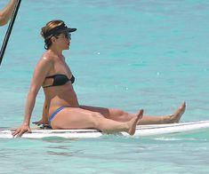 Горячее тело Дженнифер Энистон в бикини на Багамах фото #6