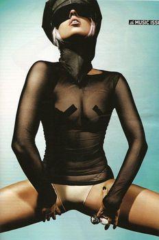Горячая Леди Гага в журнале Maxim фото #3