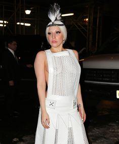 Вызывающий наряд Леди Гаги в Нью-Йорке фото #3