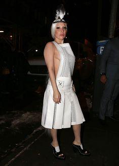 Вызывающий наряд Леди Гаги в Нью-Йорке фото #5