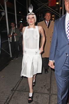 Вызывающий наряд Леди Гаги в Нью-Йорке фото #6