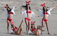 Упругая попка Алессандры Амбросио на съемках для Victoria's Secret фото #18