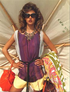 Алессандра Амбросио в прозрачной блузке для журнала Marie Claire фото #1