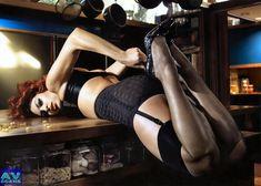 Голая грудь Евы Мендес в журнале Vogue фото #17