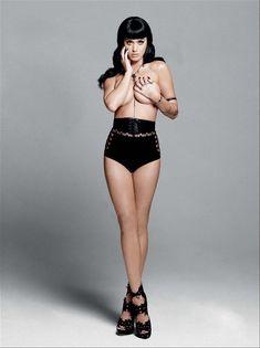 Кэти Перри в эро фотосессии для журнала Esquire фото #3