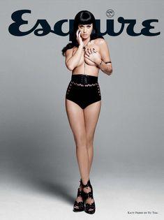 Кэти Перри в эро фотосессии для журнала Esquire фото #5