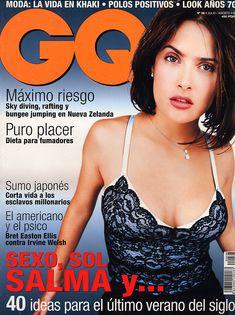 Горячая Сальма Хайек в журнале GQ фото #1