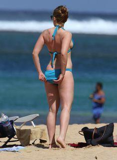Горячие фото Скарлетт Йоханссон в бикини на Гавайях фото #1