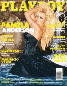 Сочная голая грудь Памелы Андерсон в журнале Плейбой фото #1