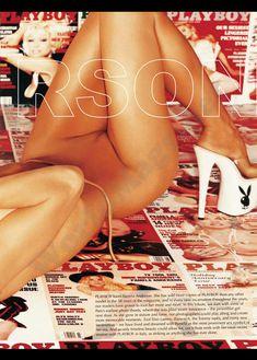 Голые сиськи Памелы Андерсон в журнале Playboy фото #3