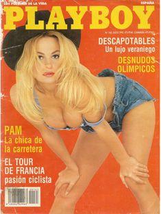 Эротичная Памела Андерсон в журнале Playboy фото #1