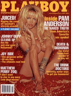 Голые прелести Памелы Андерсон в журнале Playboy фото #1