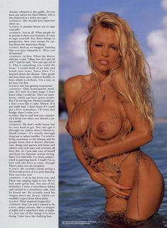 Голые прелести Памелы Андерсон в журнале Playboy фото #9