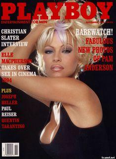 Обнаженка Памелы Андерсон в журнале Playboy фото #1