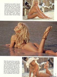 Обнаженка Памелы Андерсон в журнале Playboy фото #6