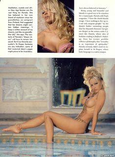 Обнаженка Памелы Андерсон в журнале Playboy фото #7
