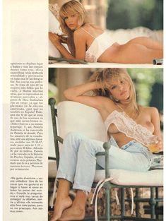 Молодая и голая Памела Андерсон в журнале Playboy фото #5