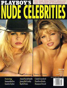 Памела Андерсон голышом в журнале Playboy's Nude фото #1